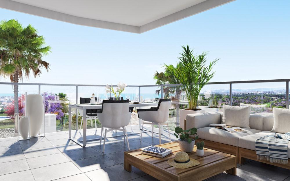 Appartements neufs à Mijas Costa proches de la plage – HRD1246