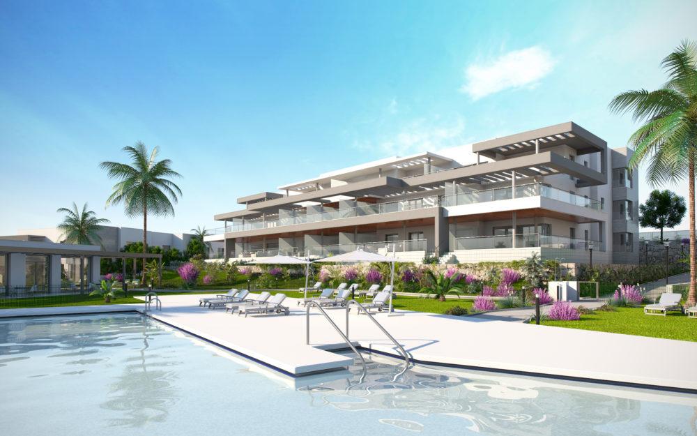 Appartements contemporains proches du golf et de la mer – HRD1300