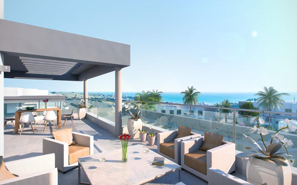 Appartements modernes situés entre golf et mer – HRD1278