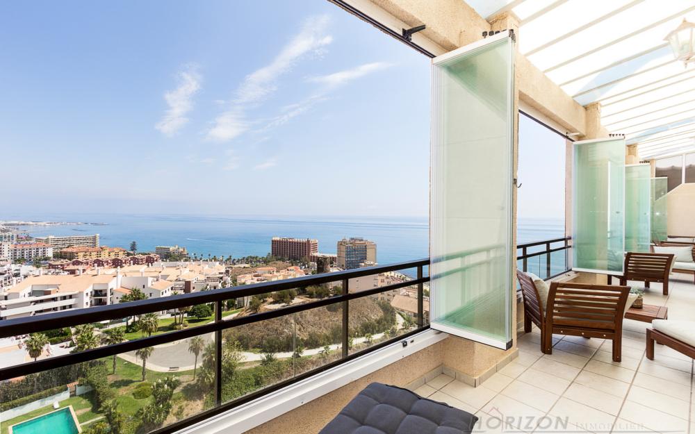 Grand penthouse avec vues spectaculaires – Benalmadena – HRP979