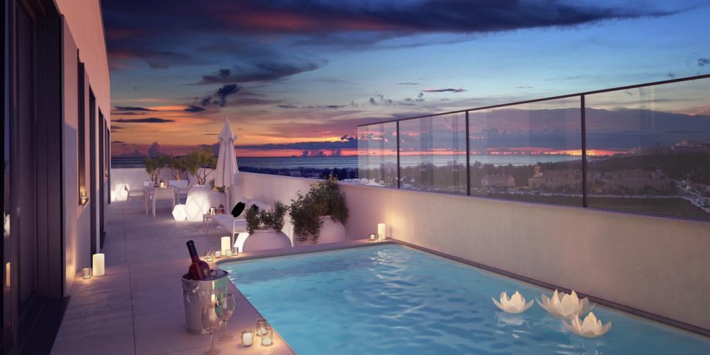 Superbes penthouses proche de la plage et des commerces – HRD1907