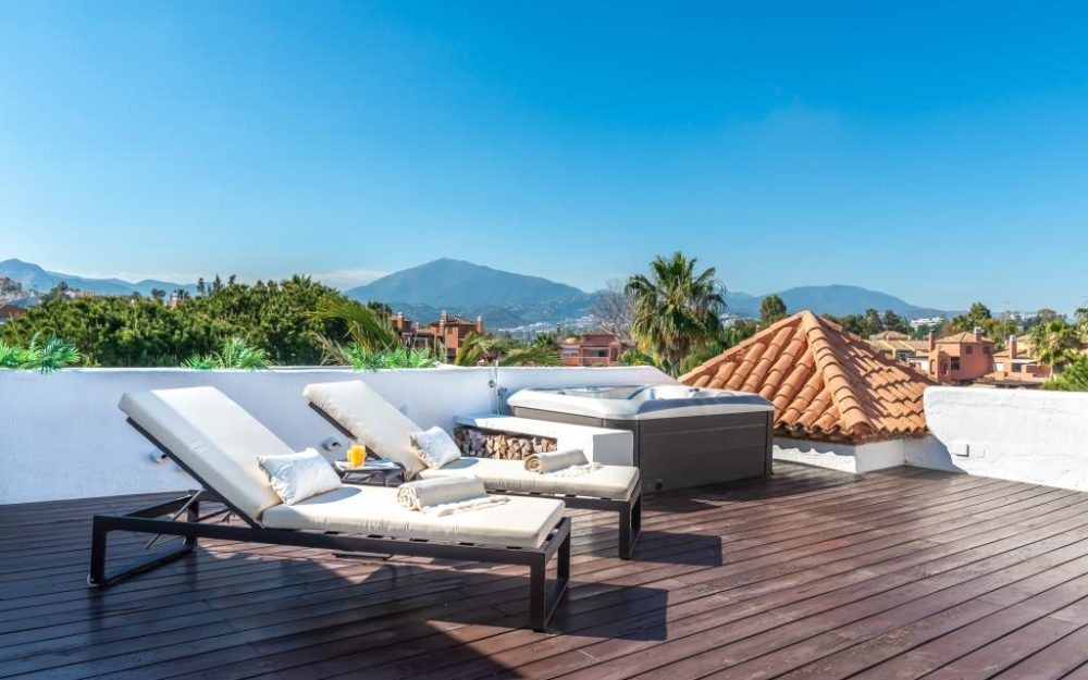Grand Penthouse à Guadalmina Baja – HRP2221