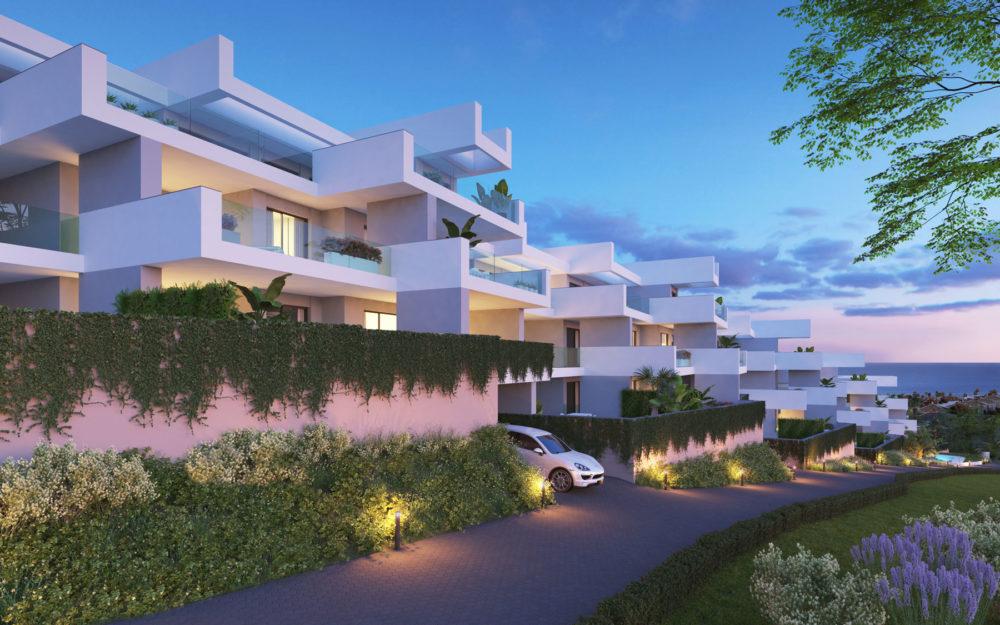 Apartamentos modernos con vistas al mar – HRD2363