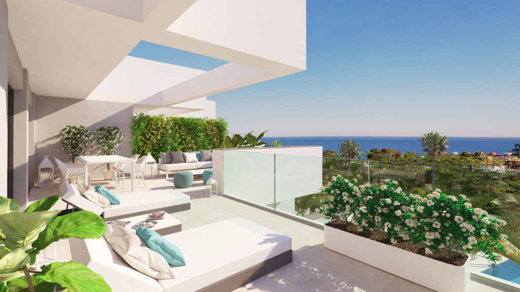 Modern penthouse with sea views – HRD2375